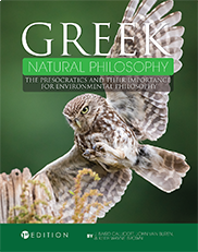Greek Natural PhilosophyJ. Baird Callicott, John van Buren, and Keith Wayne Brown