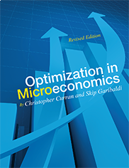"Optimization in MicroeconomicsChristopher Curran and Ryan ""Skip"" Garibaldi"