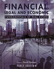 Financial, Legal and Economic Fundamentals of Real EstateDavid Hysinger