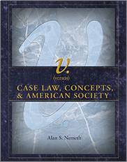 v. (versus): Case Law, Concepts, & American SocietyBy Alan Scott Nemeth