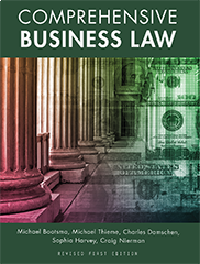 Comprehensive Business LawMichael J Bootsma, Michael Thieme, Charles Damschen, Sophia Harvey, Craig Nierman