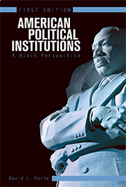 American Political Institutions: A Black Perspective (First Edition)David Horne