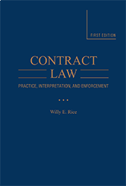 Contract LawWill E. Rice