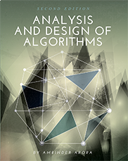 Analysis and Design of AlgorithmsAmrinder Arora