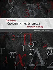 Developing Quantitative Literacy Through WritingGaylynne Carter Robinson